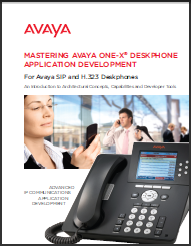 Mastering Avaya one-X Deskphone Application Development book cover
